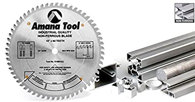 Amana Tool 518108 Carbide Tipped Aluminum and Non-Ferrous Metals 18 Inch D x 108T TCG, -6 Deg, 1 Inch Bore, Circular Saw Blade from Amana Tool