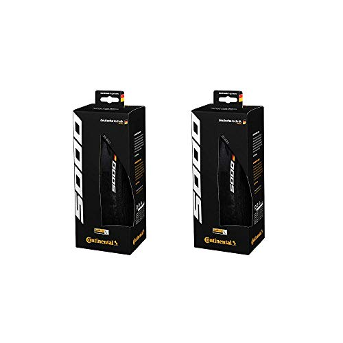 Continental Grand Prix 5000 Performance Bike Tire Set of 2 (700 x 28, Clincher) (Best Place For Cheap Tires)