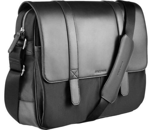 leather messenger bag cole haan - 2