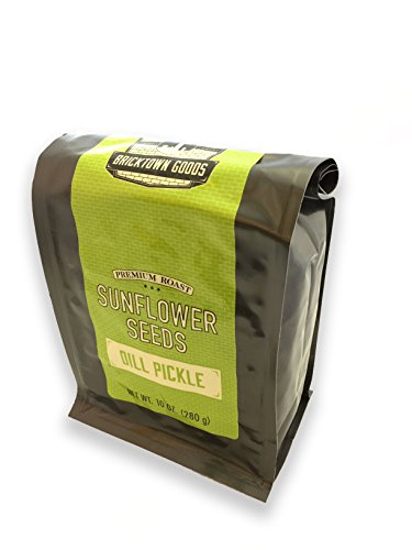 - Dill Pickle Flavored Sunflower Seeds - Seasoned and Roasted in Shell for a Bold Taste - 10 oz.