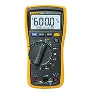 "2601630 Fluke 115 Digital Multimeter with True-RMS , 1.81"" Height, 3.31"" Wide, 6.57"" Length"