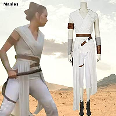 MSSJ Rey Cosplay Star Wars 9 The Rise of Skywalker Disfraz Star ...