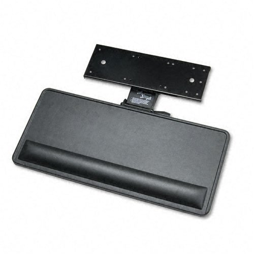 Extended Articulating Keyboard/Mouse Platform, 27w x 12d, Black by Ergonomic ()