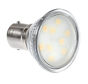 Newhouse Lighting GBF-2320 Modern GBF Base LED Elevator Bulb 2.3W (20W Equivalent) BA15D, Halogen Replacement, 200 lm, 12V, 3000K