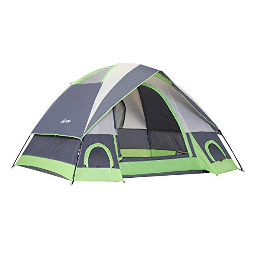 SEMOO Water Resistant D-Style Door, 4-Person Camping/Traveling Family Dome Tent with Carry Bag