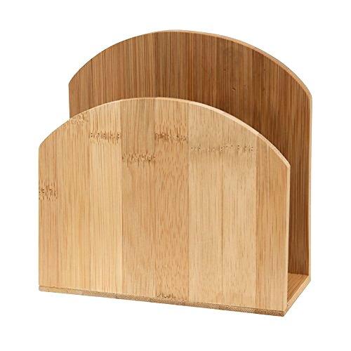 MAINSTAYS 33128 Bamboo Napkin Holder - Natural