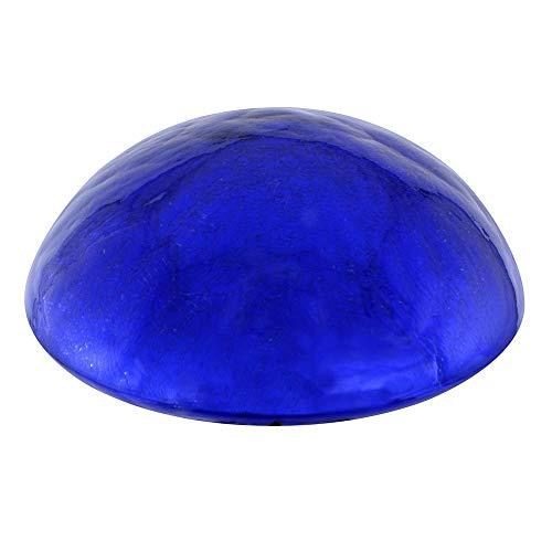 Achla Designs Glass Toadstool Mushroom Gazing Ball, Blue (Renewed)
