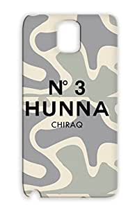 No. 3 Hunna Black Cover Case For Sumsang Galaxy Note Hip Hop Kanye Parody 100 Hiphop Music 300 3hunna Chicago