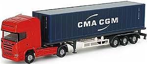 """065443 - Herpa - Scania R TL semirremolque """"CMA / CGM"""""""