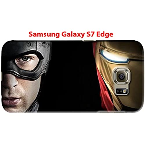 Captain America: Civil War & Characters for Samsung Galaxy S7 Edge Hard Case Cover (war13) Sales