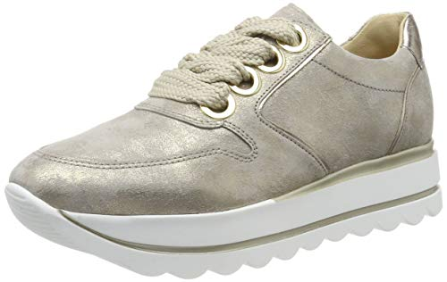 Gabor Shoes Women's Casual Low-Top Sneakers, Beige, used for sale  Delivered anywhere in USA