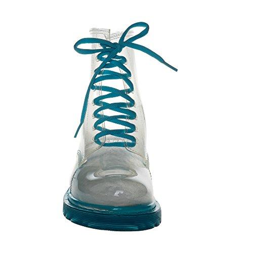 Blaue Sohle Jelly Wasserdichte Jolly Damen Regenstiefel für wZXYvZq