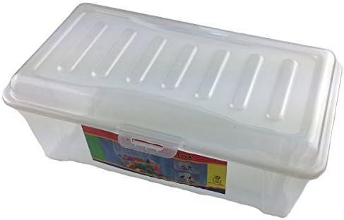 GMMH Box-Caja con Tapa de plástico Grandes (LxBxH): 32x 19x ...
