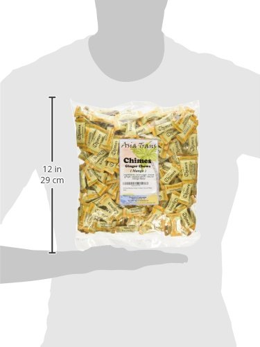 Chimes Mango Ginger Chews, 2-pound Bag by Chimes (Image #4)