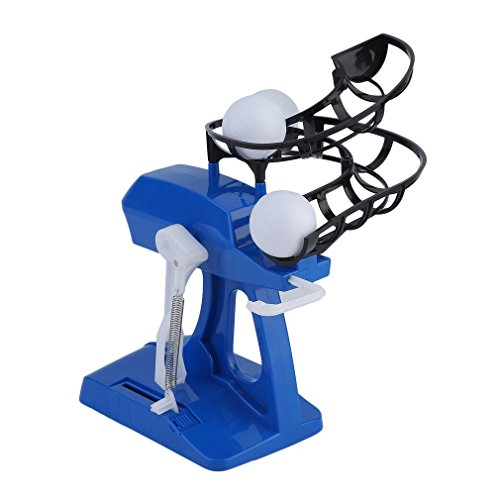 Homgrace Mini Kids Baseball Practice Adjustable Intelligent Automatic Pitching Machine Sports Learn To Play Tool Blue by Homgrace