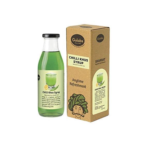 Gulabs Chilli Khus Syrup, 475 ml