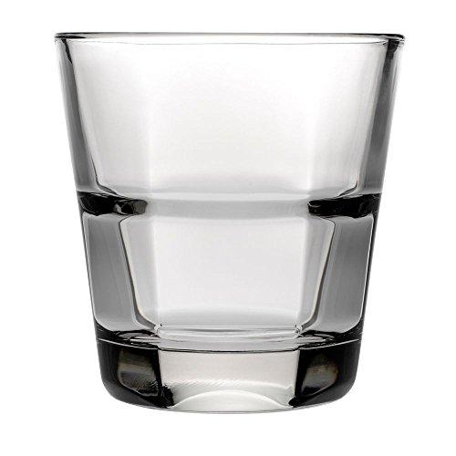 Anchor Hocking 90252 Clarisse 10 Oz. Stackable Rocks Glass - 24 / CS (Clarisse Rocks Glass)