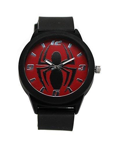 Spider-man Emblem Strap Watch (Spd1445)