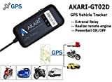AKARI GPS Tracker (with Mobile App) - Device for Car,Bike,Truck and Bus with Engine ON/Off and Real time Tracker