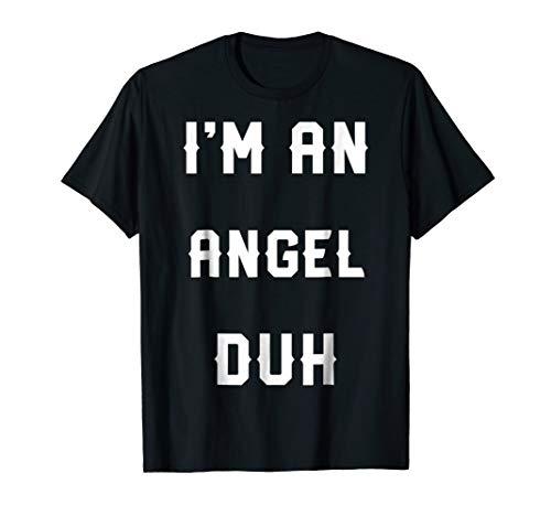 Halloween Easy Angel Costume Shirts, I'm An Angel -