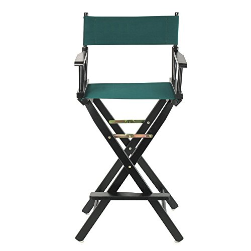 Casual Home 30-Inch Director Chair, Black Frame