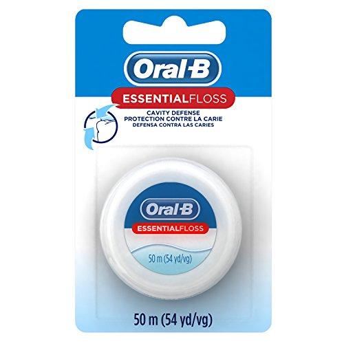 - Oral-B EssentialFloss Cavity Defense Dental Floss, 50 M, Pack of 24