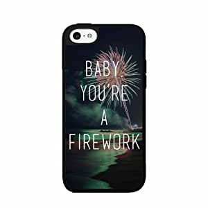 Fireworks TPU RUBBER SILICONE Phone Case Back Cover iPhone 5 5s includes BleuReign(TM) Cloth and Warranty Label