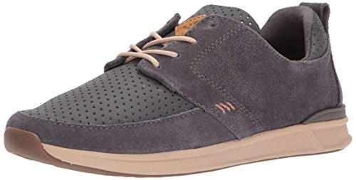 Reef Women Rover Low Lx Fashion Sneaker Charcoal