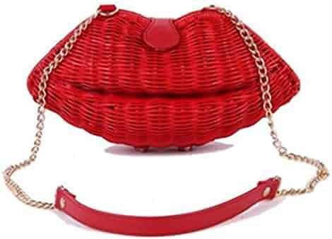 b1ac936b09a5 Shopping Straw - Reds - Clutches & Evening Bags - Handbags & Wallets ...