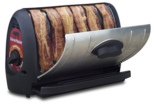 Cooking Bacon Plaques Machine Rack Heating Control Timer Crispy Cooking