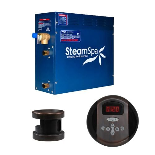 Steam Spa OA450OB Oasis 4.5 KW Quick Start Acu-Steam Bath Generator Package, Oil Rubbed Bronze by Steam Spa (Image #1)
