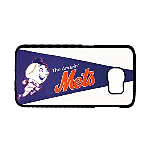 Print With New York Mets Custom Phone Cases For Children For Samsung Galaxy S6 Edge Choose Design 3