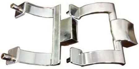 Cromado soportes para toallero de barra para mampara de ducha sólo, 2