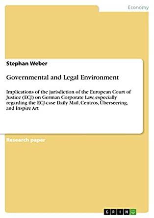 Amazon.com: Governmental and Legal Environment