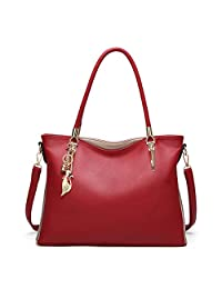 Women Four Set Handbag Shoulder Bags Four Pieces Tote Bag Crossbody Wallet Bags