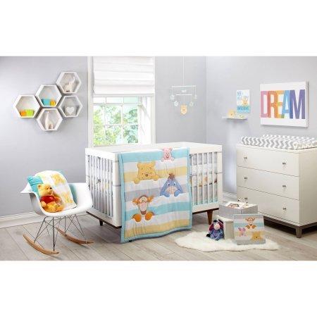 Disney Pooh Together Forever 4-Piece Crib Bedding Set