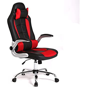 New High Back Race Car Style Bucket Seat Office Desk Chair Gaming Chair