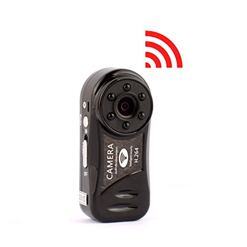 SANPROV Mini Wifi Camera, HD 720P Nanny Recording System Security Camera with Motion Detection