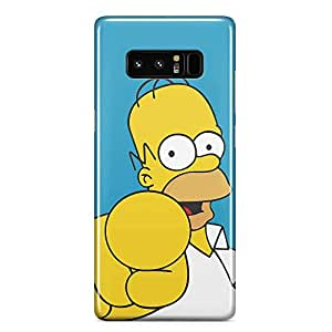 Loud Universe You Homer Simpson Samsung Note 8 Case The Simpsons Samsung Note 8 Cover with 3d Wrap around Edges