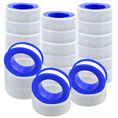 "Teflon Tread Tape FJSM 10 Rolls Pipe Tape Thread Seal Tape 1//2/"" X 520 for PTFE"
