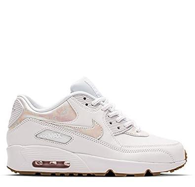 Nike Filles Air Max 90 LTR soi GG Baskets blanc 897987 101
