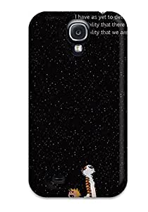 Cute High Quality Galaxy S4 Calvin And Hobbs Case by lolosakes