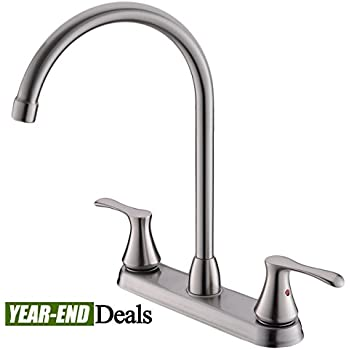 Peerless P299578lf Choice Two Handle Kitchen Faucet