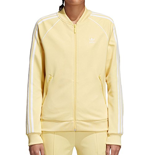 Womens Tricot Track - adidas Originals Women's SST Track Jacket Sand X-Large