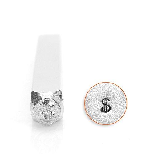 ImpressArt- 3mm, Dollar Sign Design Stamp