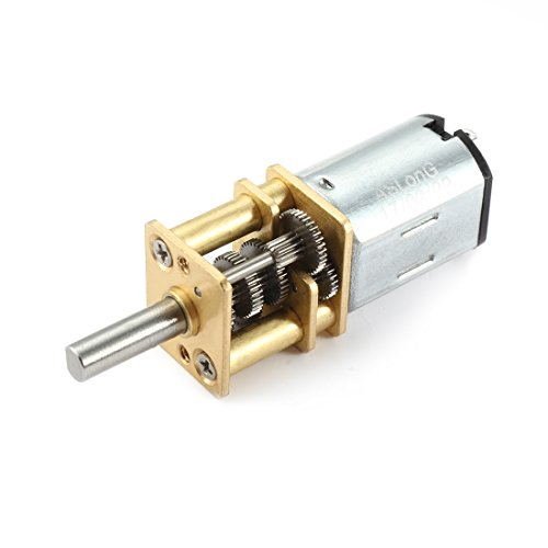 uxcell DC 6V 10RPM Micro Speed Reduction Motor Mini Gear Box Motor with 2 Terminals for RC Car Robot Model DIY Engine Toy (Rpm Dc Motor Low)
