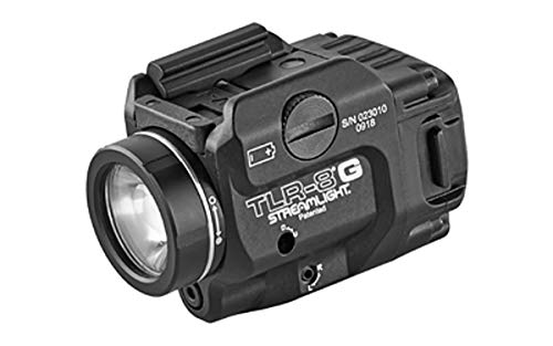 Streamlight TLR-8 Tactical Weapon Light/Green Laser 500 Lumens Black - New Item