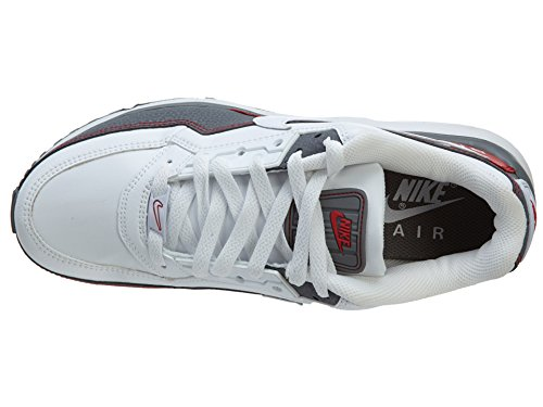 Nike Air Max LTD 3 White White Cool Grey Sport Red, 10 D