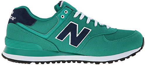 888546365933 - New Balance Men's ML574 Pique Polo Pack Classic Running Shoe, Green, 7 D US carousel main 6