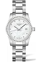 Longines L34000876 Conquest Ladies Watch - Mother Of Pearl Dial